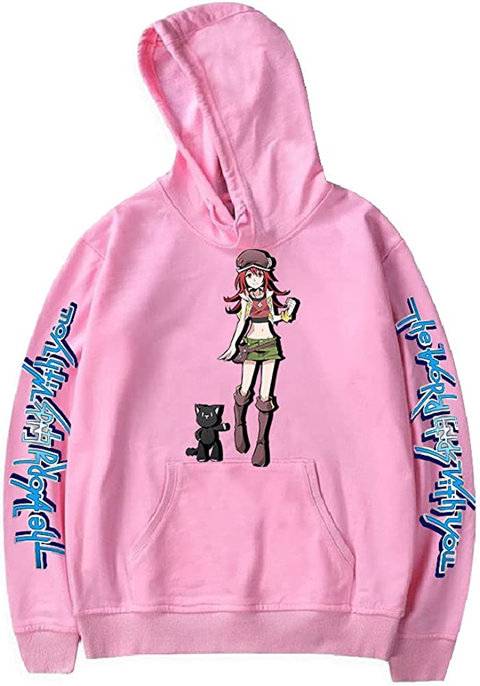 The Factory outlet World Ends with You Hoodie Harajuku Women's New Free Shipping P Sweatshirt Men
