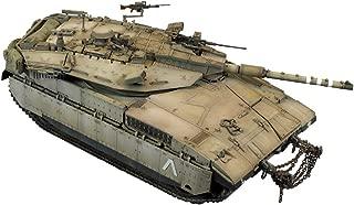 Puzzle Tanque Militar Modelo, 01:35 Israel Merkava del Modelo del Tanque, Juguetes para Niños Y Objetos De Colección (10.2Inch * 4.5Inch * 3.9Inch)