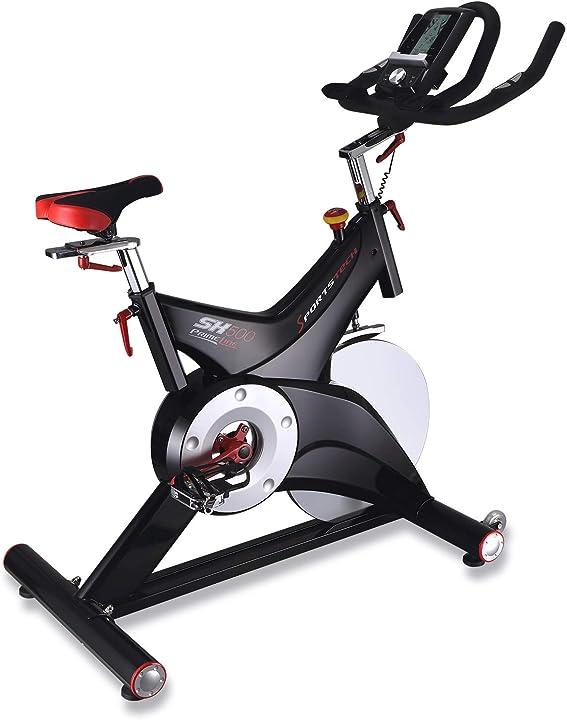 Cyclette professionale sx500 sportstech eventi video & multiplayer app, volano da 25kg, bike studio sx500_it