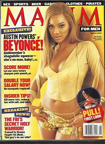 Maxim Magazine August 2002