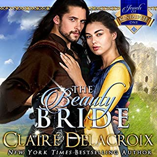 The Beauty Bride     The Jewels of Kinfairlie, Book 1              By:                                                                                                                                 Claire Delacroix,                                                                                        Deborah Cooke                               Narrated by:                                                                                                                                 Saskia Maarleveld                      Length: 12 hrs and 56 mins     186 ratings     Overall 4.2