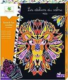 Sycomore CREH505 Les Ateliers Du Calme-Scratch Art Design-Mandalas-Basteln für Kinder-Ab 7 Jahren-Sycomore-CREH505, Mehrfarben -