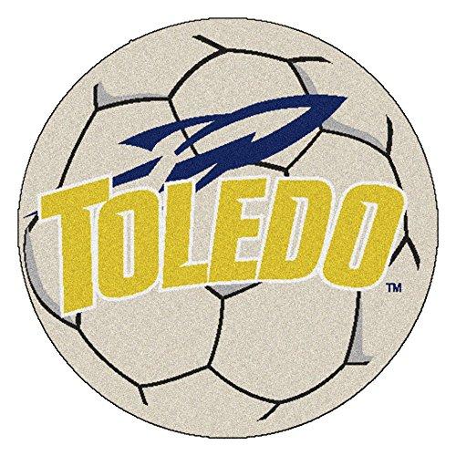 Fanmats 03343Universidad de Toledo alfombra de balón de fútbol