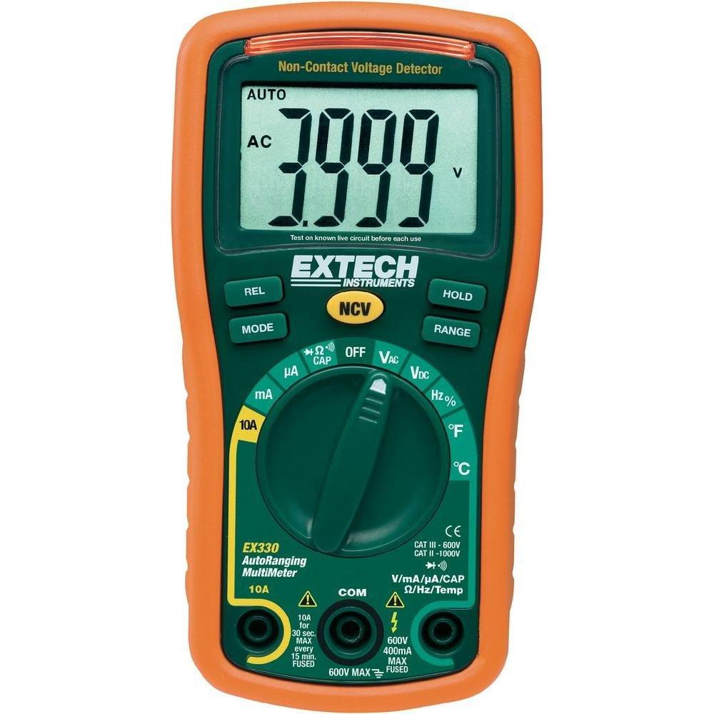 Extech EX330 Autoranging Multimeter Temperature