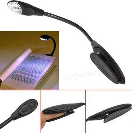 Flexible LED Reading Light For Kindle Kobo E-Reader Lamp On Book Slim Booklight, eBook Reader LED Travel Booklight Clips Light Lamp