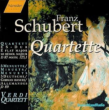 Schubert: String Quartet No. 10 / Minuets / 5 German Dances