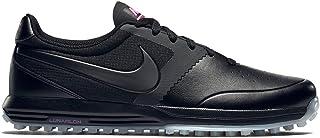 Nike Lunar Mont Royal Obsidian Bright Crimson Black Spikeless
