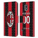 Head Case Designs sous Licence Officielle AC Milan Coutume Personnalisé Home 2020/21 Kit Coque en...
