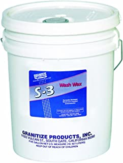 Granitize S-3 Auto Wash and Wax with Carnauba - 5 Gallon