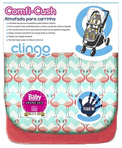 CuddleCo Comfi-Cush Memory Foam Stroller Liner - Fundas de Almohada