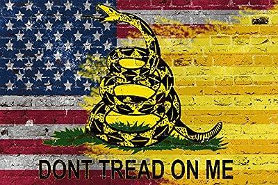 Don't Tread on Me American Flag