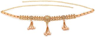 ABHRIK Imitation Golden Waist Hip Belt Kamarband