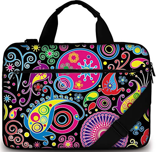 Sidorenko - Borsa in Neoprene per Notebook Borsa a Tracolla per PC Portatili Laptop Sleeve Case 15-15.6 Pollici/MacBook Air/MacBook PRO con Manici e Tracolla Tasche per Accessori