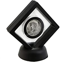 1968 D Kennedy Silver in Floating Coin Display Frame Half Dollar Brilliant Uncirculated