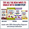 SkinnyPop White Cheddar Popped Popcorn, 100 Calorie Bags, Vegan, Gluten-free, Non-GMO, 0.65 oz Individual Snack Sized Bags (Pack of 6), Cheddar-Cheese, 3.9 Oz #5