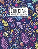 Checking Account Ledger: transaction register for checking account   6 Column Payment Record, Record and Tracker Log Book, Personal Checking Account ... Design (checking account balance log book)