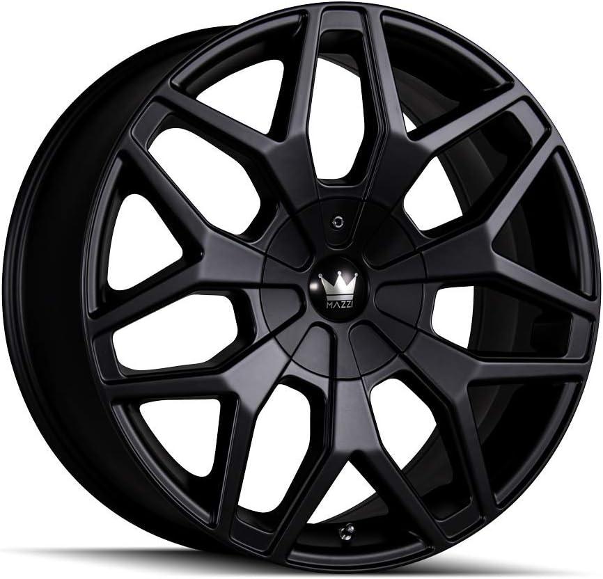 Mazzi Profile Matte Black Wheel Max 78% OFF 20x8.5'' 5x110mm 35mm Offset Philadelphia Mall