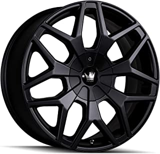 Mazzi PROFILE Matte Black Wheel with Painted Finish (20 x 8.5 inches /5 x 110 mm, 35 mm Offset)