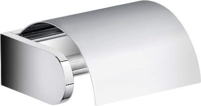 Set di adesivi tipo 1 per porta carta igienica con ripiano in vetro e mensole per doccia selezionate da incollare al posto di forare bagno o WC per ospiti KEUCO