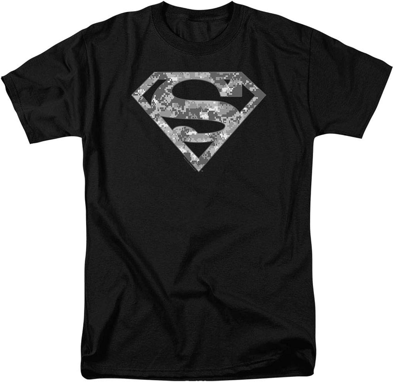 Popfunk Superman Digital Camo Logo S Shield T Shirt