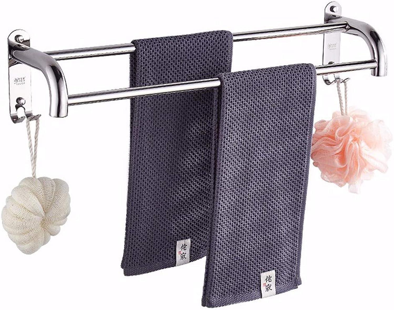 alta calidad general Toalleros toallero Cuarto Cuarto Cuarto de bao inodoro acero inoxidable no es necesario perforar 60CM  bienvenido a elegir