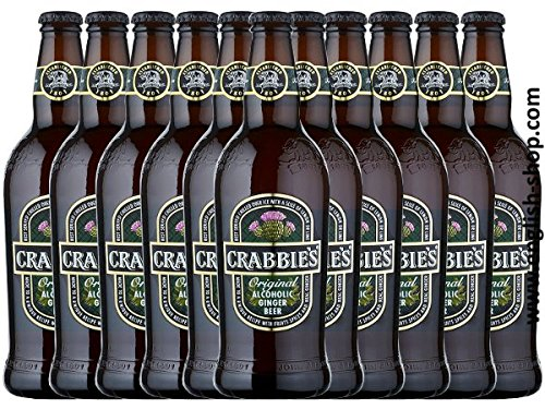 Crabbies Ginger Beer (12x500ml Flasche)