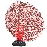 Ladieshow Mini Adorno de Planta de Coral de simulación Artificial para decoración de Paisaje de Acuario