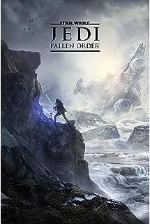【予約商品】 STAR WARS スターウォーズ (映画公開記念「スカイウォーカーの夜明け」) - Jedi Fallen Order (Landscape) / ポスター 【公式/オフィシャル】