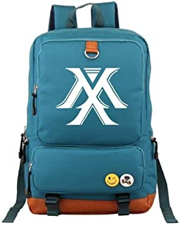 Asdfnfa Backpack, Travel Package Laptop Packet Student School Bag Oxford Cloth Men and Women (Color : Blue)