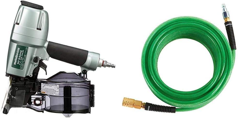 Metabo HPT NV65AH2 High quality new Siding w Nailer Hose High quality Air