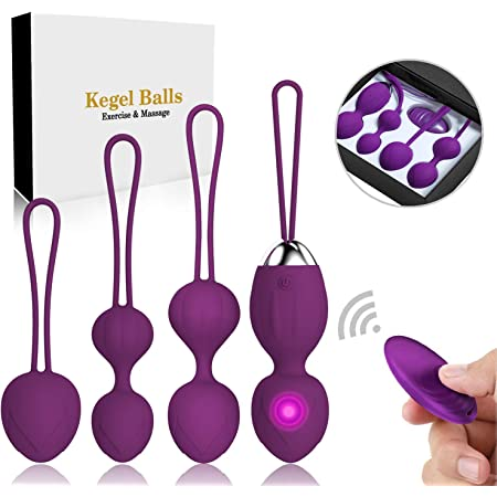Kegel Balls Ben Wa Balls Exercise Weights Kegel Exercise for Women Pelvic Floor Tightening Exercises,Beginners & Advanced Kegel Balls for Women Exercises Bladder Control & Pelvic Floor