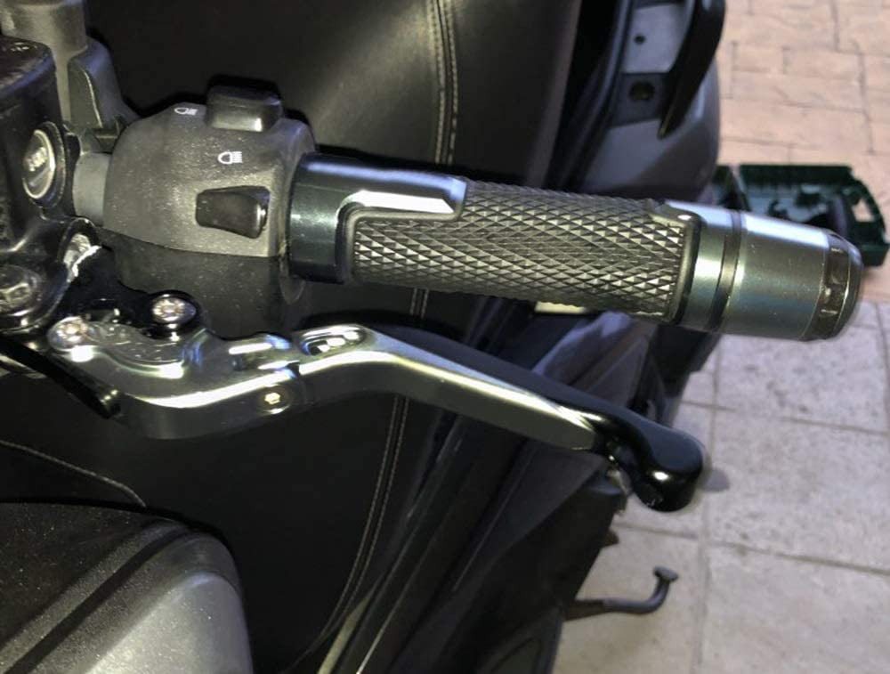 Color : A Lever MOTO Adjustable Foldable Extendable Motorbike Brakes Clutch Levers For Y/&amaha Tracer 900 GT 900GT 2018 2019 2020 Brake