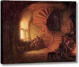 Philosopher in Meditation by Rembrandt Van Rijn - 12