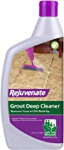Rejuvenate Grout Deep Cleaner Ð Safe Non-Toxic Cleaning Formula Instantly Removes Years of Dirt Build-Up to Restore Grout ...