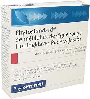 Pileje Phytoprevent Phytostandard of Yellow Sweetclover & Red Vine Leaf 30 Tablets