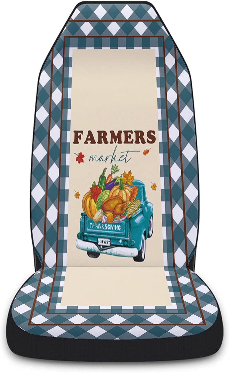 Colorado Springs Mall Car Seat Sale Covers Fall Thanksgiving Pumpkin Vegetable Truck Front
