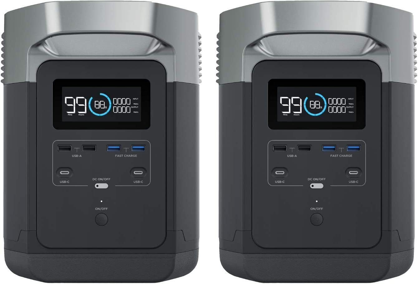 EF ECOFLOW Ranking TOP18 Portable Power Station DELTA 100% quality warranty Supply UPS 1260Wh