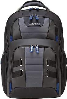 Targus DrifterTrek Checkpoint-Friendly Backpack for 15.6-Inch Laptop, Black/Blue (TSB927US)