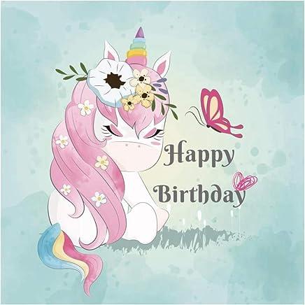 Amazonit Unicorno Festa Compleanno Sfondi Foto Studio E