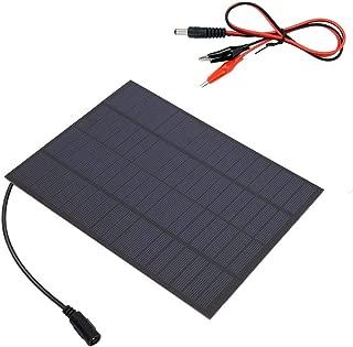 Alomejor Solar Ladeger/ät Solar Power Bank Tragbare Batterie Ladestation USB Ausgang 14W 5V f/ür Outdoor Camping