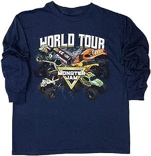 Monster Jam Youth Long Sleeve 2019 World Tour Tee