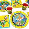 Geronimo Stilton Party Supplies (Standard) Birthday Party Pack, 58 Piece Set, by Prime Party #1
