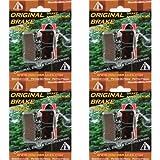 F1 Performance Disc Brake Pads / DiscoBrakes Bicicletas Pastillas de Frenos para Frenos Grimeca. Sinterizadon, Semi-Metálica, Kevlar,cerámica Compuesto. 4 Pares