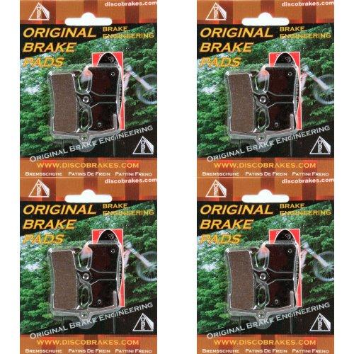 Bicicletas pastillas de frenos para frenos Grimeca. Sinterizadon, Semi-Metálica, Kevlar,cerámica compuesto. 4 Pares