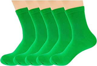 lime green crew socks