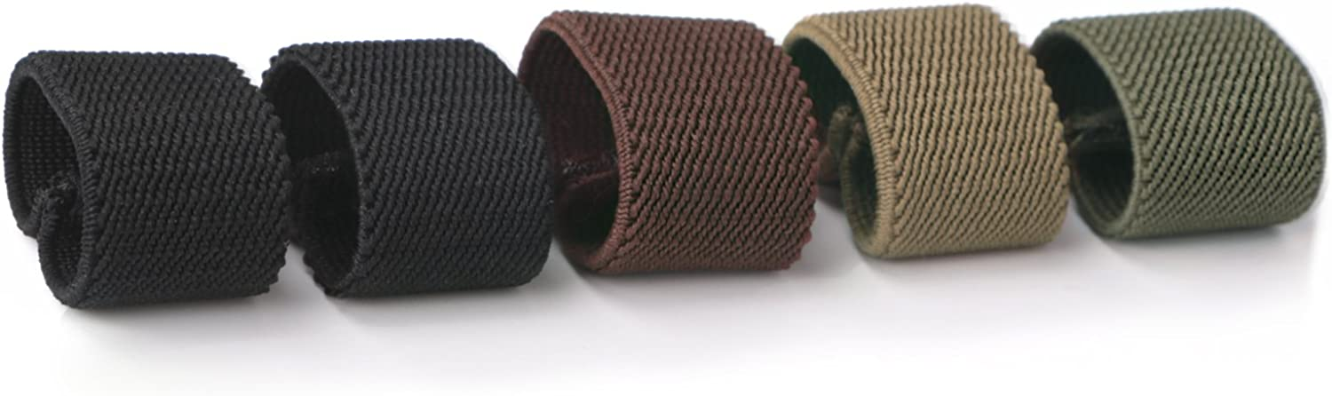 JASGOOD Nylon Canvas Web Belt Elastic OFFicial mail order Wi for Loop 1.5inch Raleigh Mall Keeper