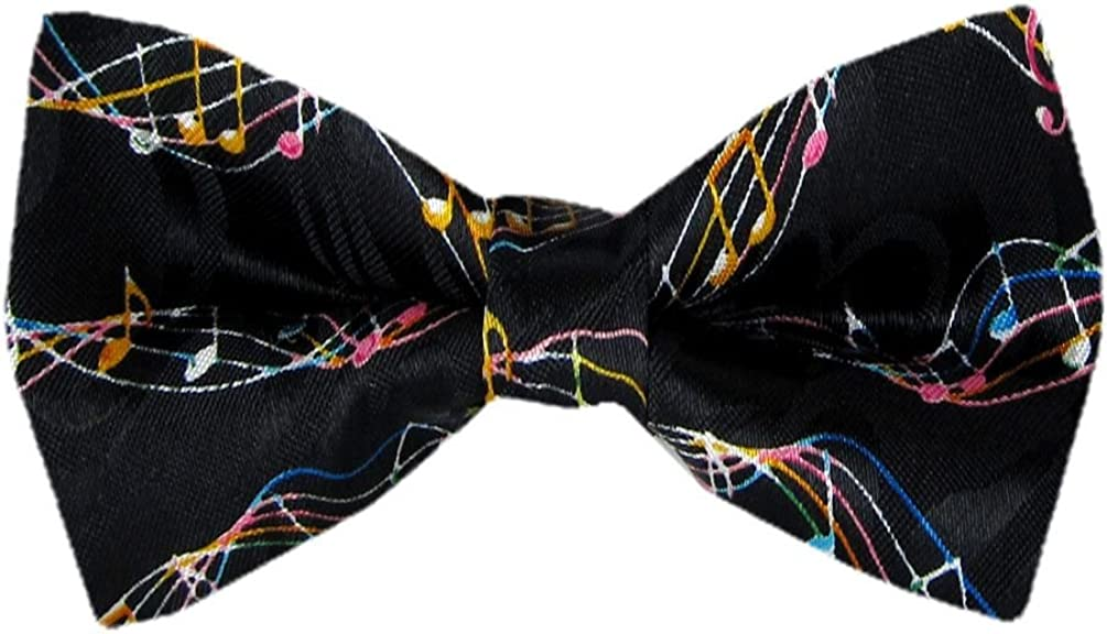 PBTN-190 - Musical Notes Pre-Tied Bow Tie