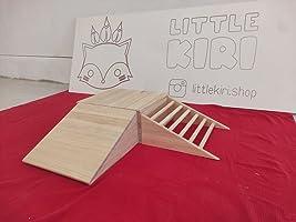 Rampa de gateo Pikler – Cajón de gateo bebe – Tarima de gateo madera – Conjunto de gateo bebe