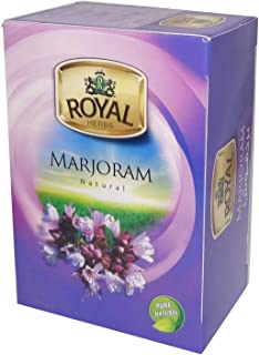 Royal Tea Egyptian Marjoram Tea Bags 100% Organic Natural Flavor Herbal Flower No Caffeine , No Artificial Flavors , No Ad...