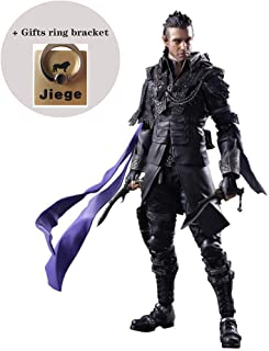 Jiege Kingsglaive Final Fantasy XV Nyx Ulric Play Arts Kai Action Figure - Equipped with Weapons, Helmets and Replaceable Hands - 10.23